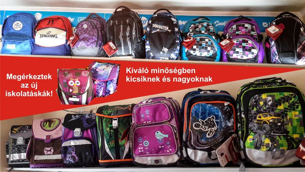 2016-os iskola táskák