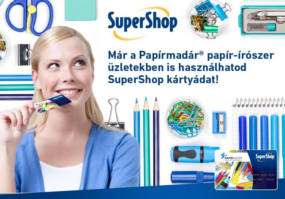 SuperShop elfogadóhely